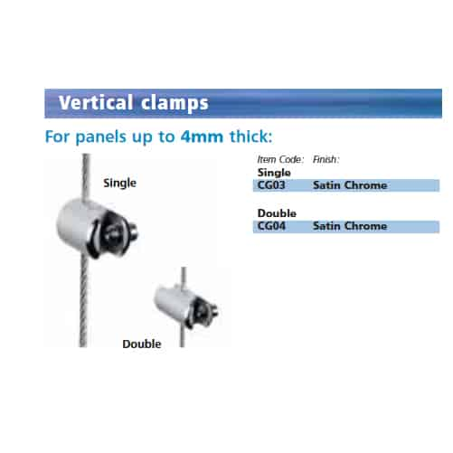 Fairfield Cable Clamp (Up To 4mm Panel) (CG03)