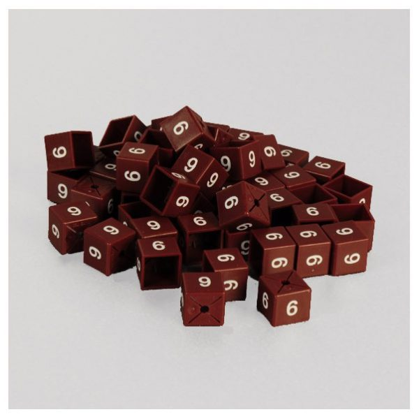 Size Cubes for Clothing (50 Pack) Sizes 6-54
