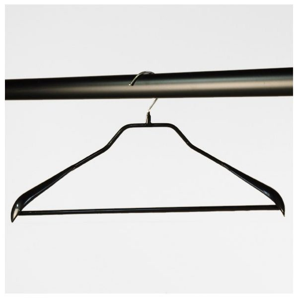 Non Slip Suit Hangers With Centre Bars (25 Pc)