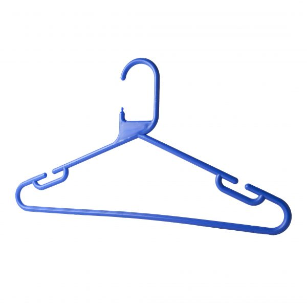Rounded Plastic Hangers (420 mm) | Different Colours