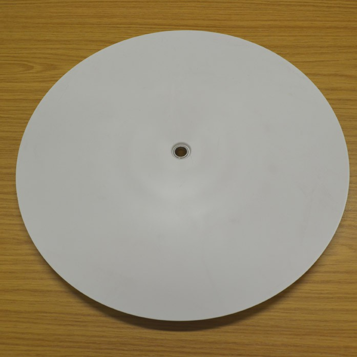 "Unpowered Turntable Reverse Taper Top 355mm (14"")"
