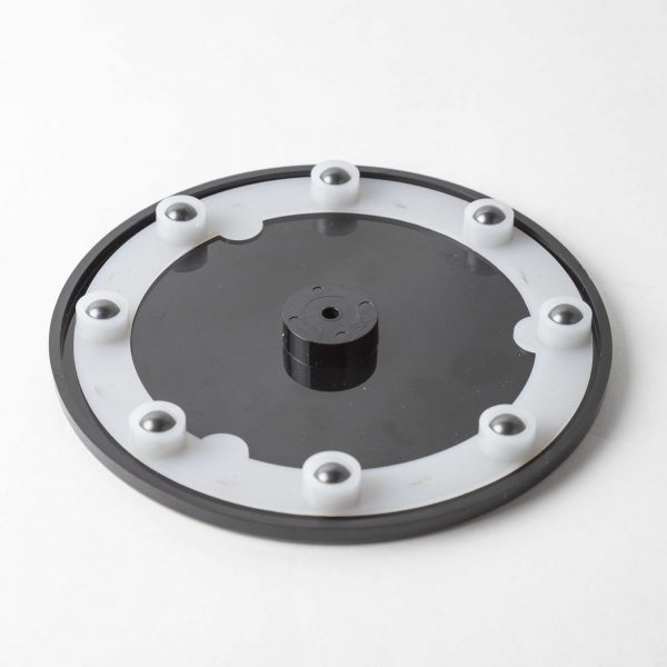 Black Acrylic Display Turntable With Bearings 140mm (5.5 inch)