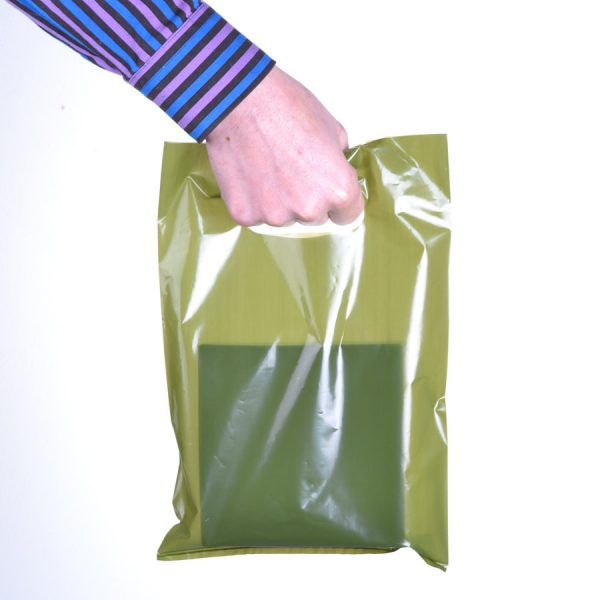 Small Coloured Carrier Bags 45 Mic (500Pc)