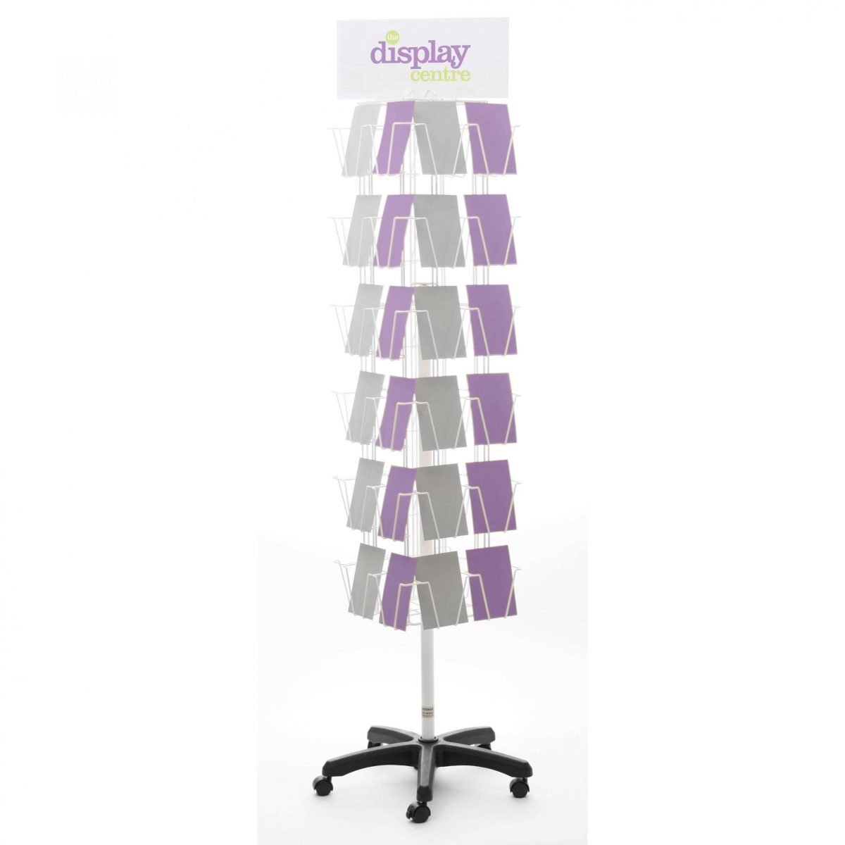 Greeting Card (9x6) Floor Spinner - 4 Sided Double