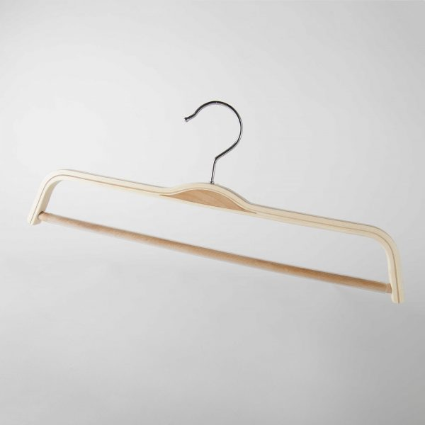 Laminated Wooden Trouser Hangers (370 mm)