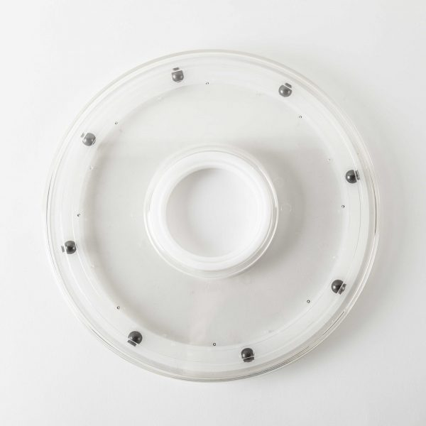 "Clear Acrylic Turntable 225mm (9"")"