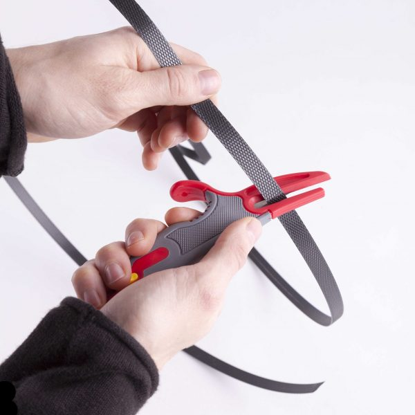 Ergonomic Safety Knife For Film And Strapping