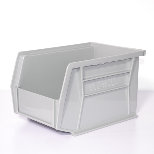 Plastic Bin Light Grey (140 x 205 x 127mm)