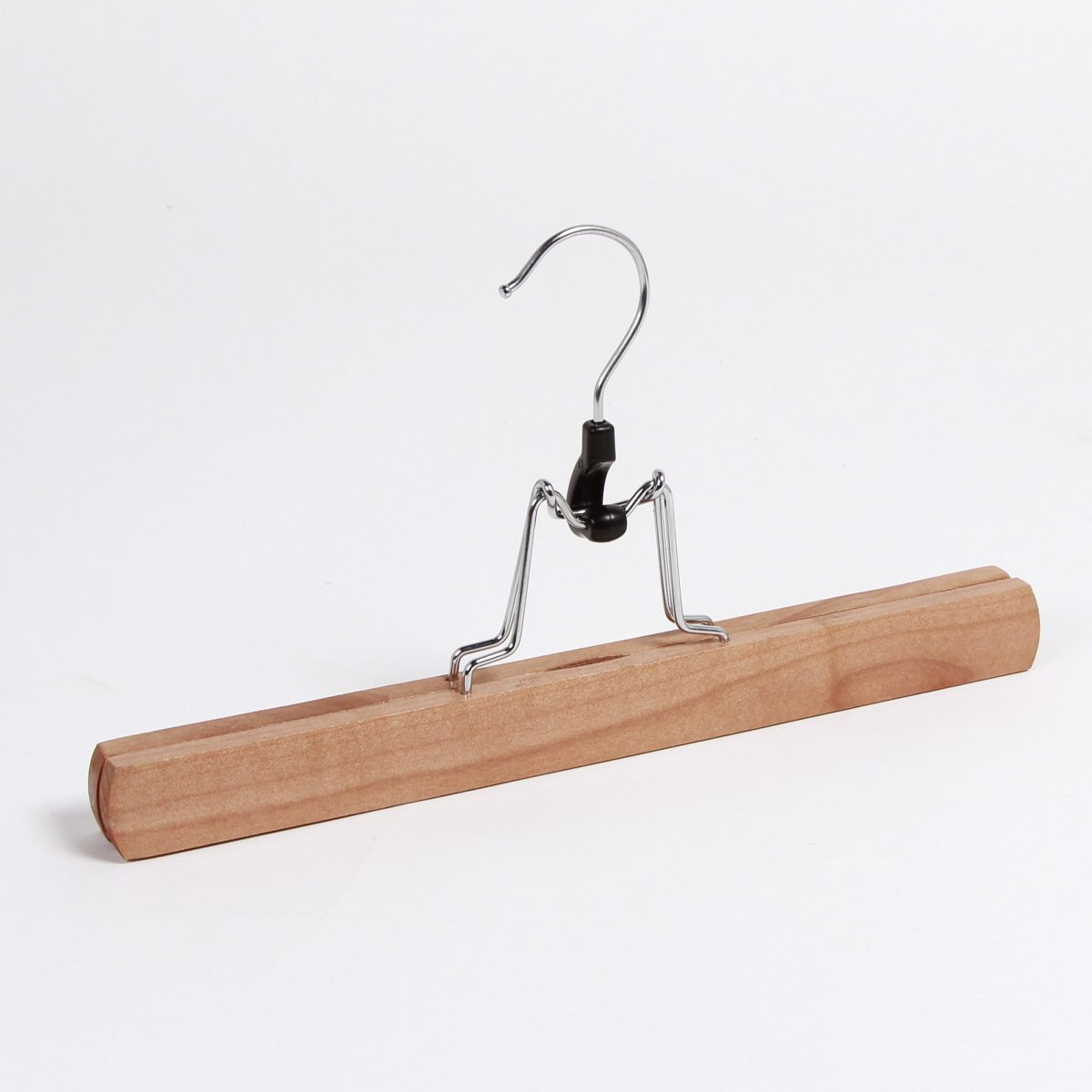 Wooden Clamp Hangers for Trousers & Skirts (300 mm)
