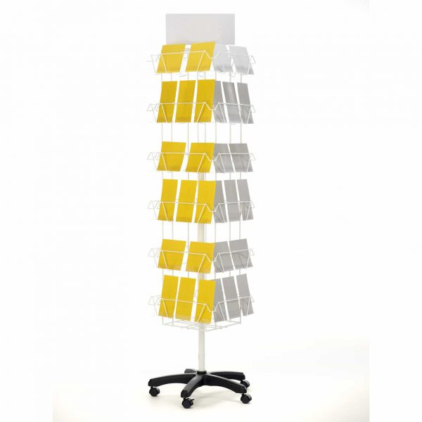 Adjustable Greeting Card Display - Freestanding Slim
