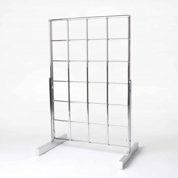 Counter Standing Small Grid Display Stand