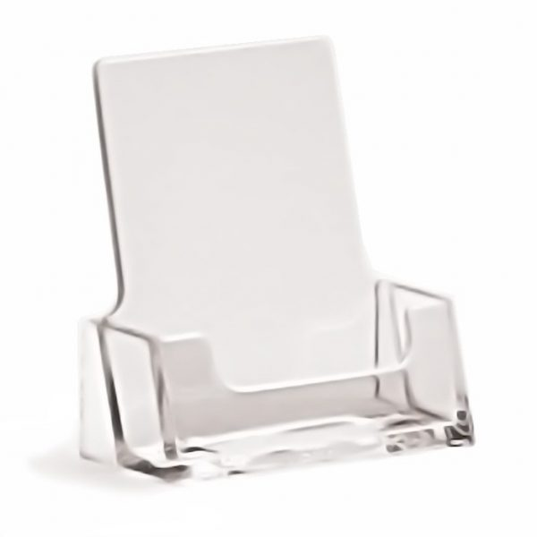 Counter Standing Portrait Business Card Holder